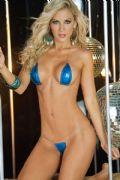 micro bikini blu