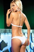 bikini classico bianco retro